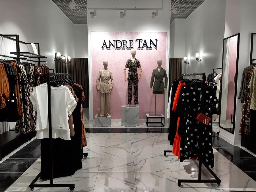Магазин женской одежды «ANDRE TAN»,ТРЦ «Nikolsky» г.Харьков