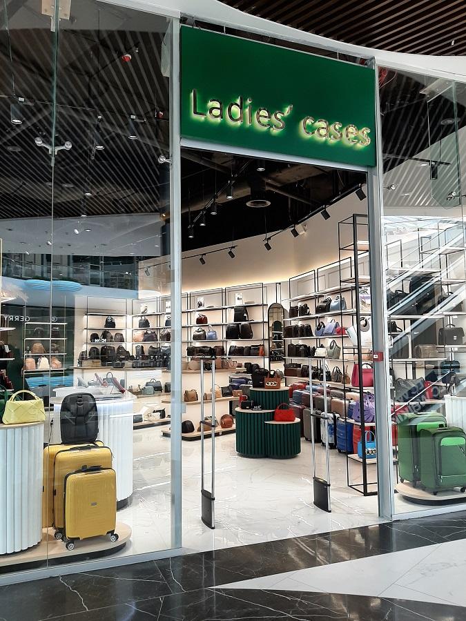Магазин сумок «Ladies Cases'»,ТРЦ «Nikolsky» г.Харьков