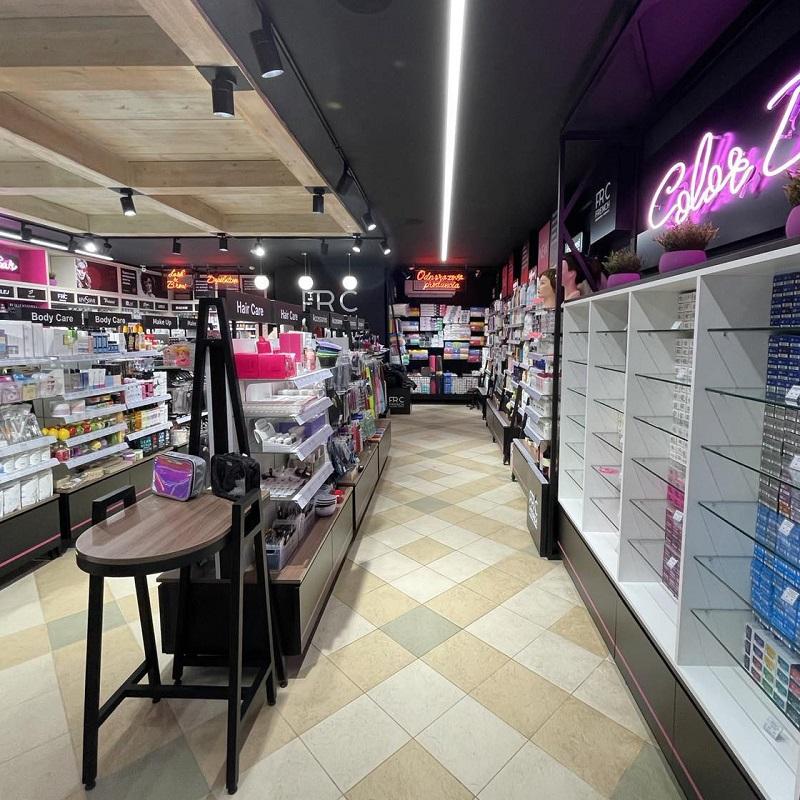 оборудование для магазина косметики от ROMKOS