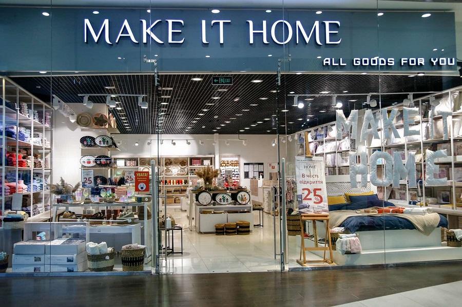Магазин товаров для дома «Make it Home», ТРЦ «Ocean Plaza» г.Киев